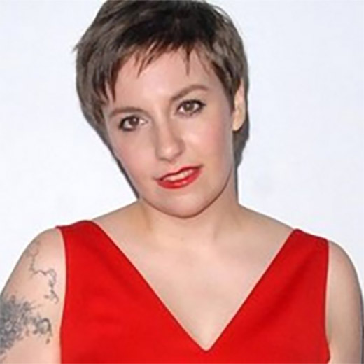 Lena Dunham on TM